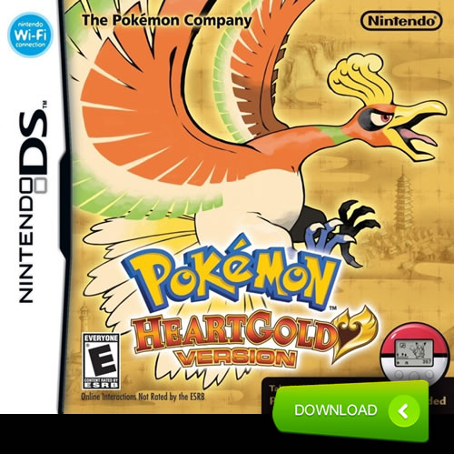 Pokemon HeartGold rom download