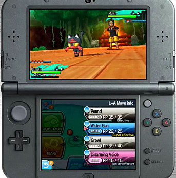 3DS Pokemon Sun & Moon Rom Download